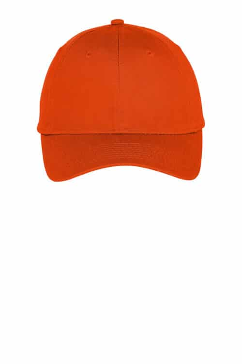 Six-Panel Unstructured Twill Cap